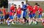 Illarramendi finaliza el entrenamiento con molestias y no jugará ante Francia