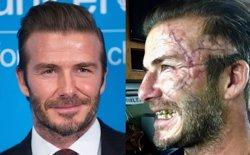 El cambio radical de David Beckham para rodar El Rey Arturo de Guy Ritchie (INSTAGRAM/CORDON PRESS)