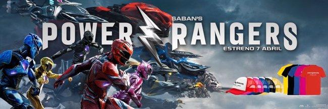 Power Rangers: Sorteamos cinco packs de la película (EONE)