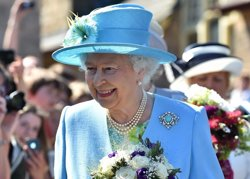La reina Isabel II celebra 91 anys en la intimitat (CORDON PRESS)