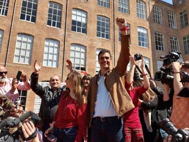"""Pedro Sánchez: """"Cal reconèixer a Catalunya com el que és, una nació"""" (EUROPA PRESS)"""