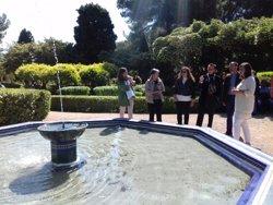 Els jardins de Marivent obriran les seves portes al públic a partir del 2 de maig (EUROPA PRESS)
