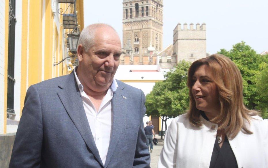 """Foto: Susana Díaz ve """"urgente"""" avanzar en negociación colectiva y un nuevo pacto que garantice las pensiones (EUROPA PRESS)"""